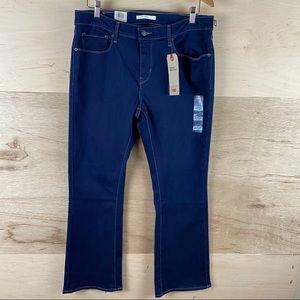 Levi's Curvy Bootcut Jeans Size 33